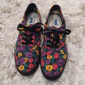 Keds Vintage Floral Print Lace Up Sneakers 6.5